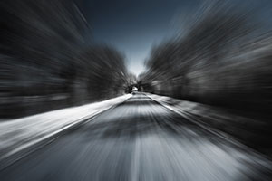 high speed in a road